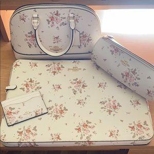Coach floral set
